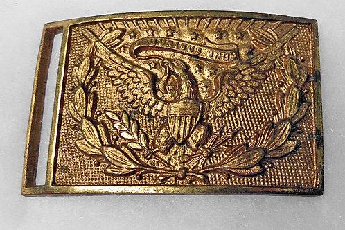 US Civil War Officer's Sword Belt Plate:1851 Pattern Non Dug