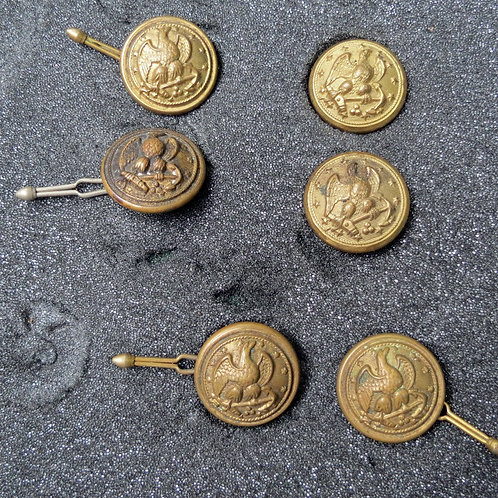 Late 1800s-early 1900s Navy Buttons