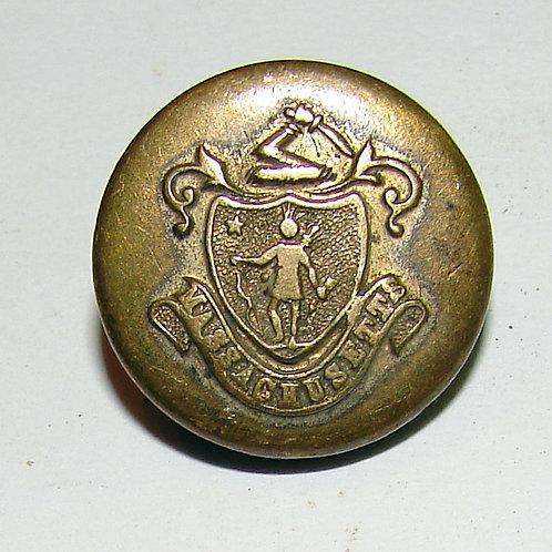 Massachusetts Button:late 1800s