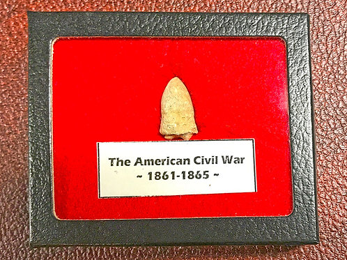 Civil War Bullet Hanging Display
