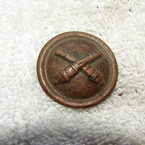 Indian Wars Artillery Helmet Button