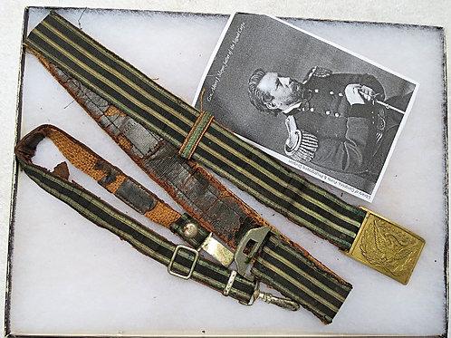 Civil War Officer's Dress Saber Belt Rig