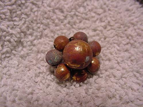 Brass Ball ClusterButton