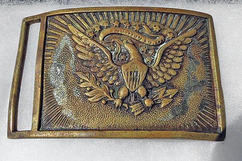 US Civil War Enlisted Man's Sword Belt Plate:1851 Pattern, non dug