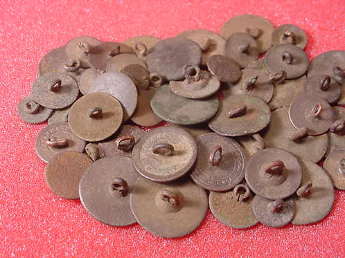 Colonial Era Flat Buttons