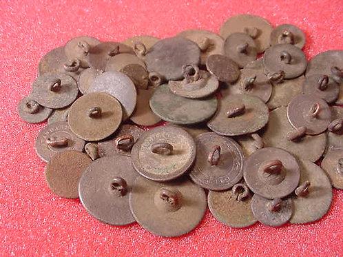 Colonial Era Flat Buttons