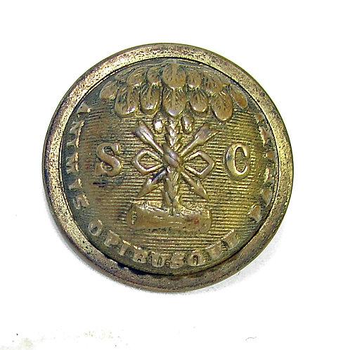 South Carolina Coat Button 1870-80 era.