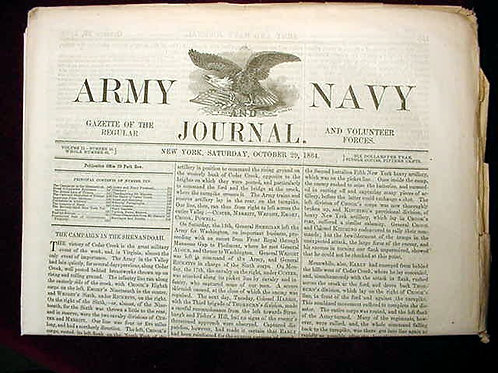 Army Navy Journal, Oct 29, 1864