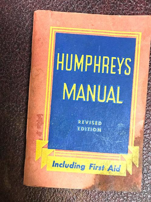 1950 First Aid & Health Manual