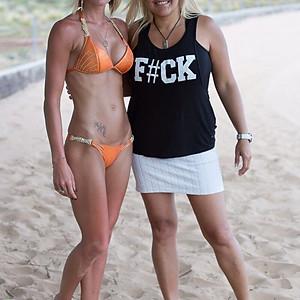 Beach shoot Tenerife door Roelof Pantjes