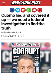 Cuomo lied and covered it up — we need a