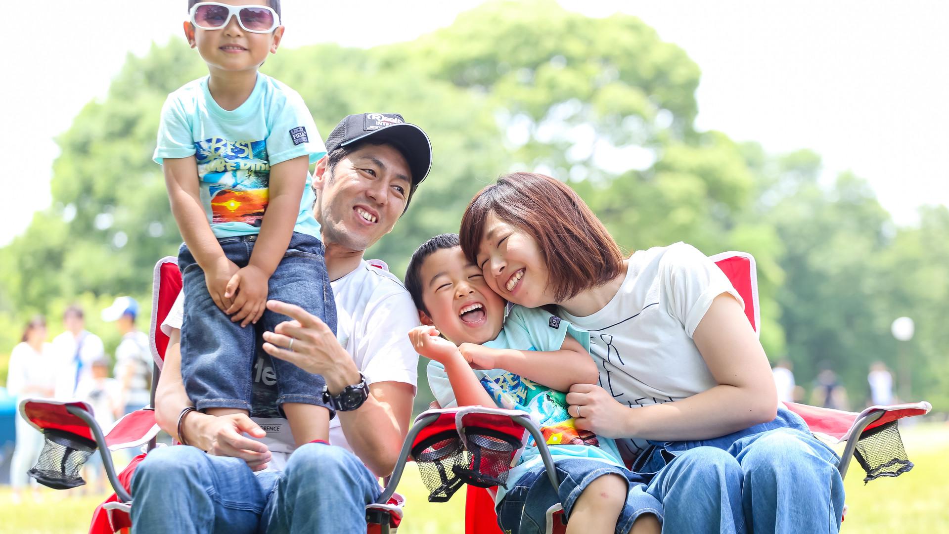 photo session 家族写真 名古屋市西区 庄内緑地公園