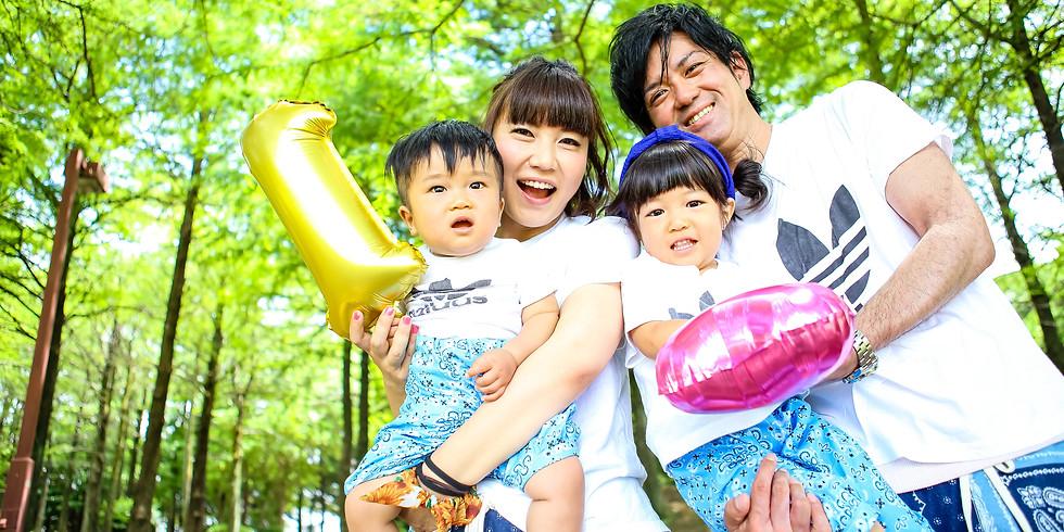 8/21《夏の撮影会in名城公園》夏の家族の思い出写真を記念に残しませんか?