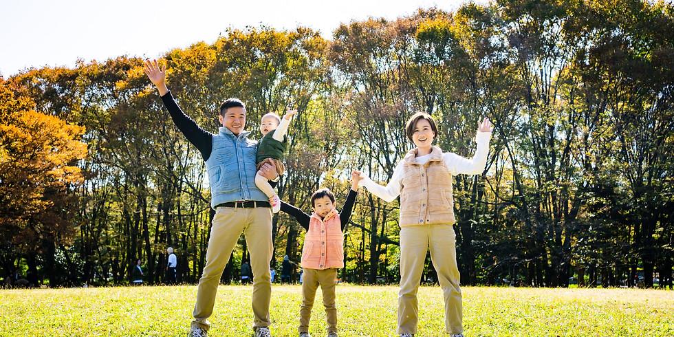 12/5・12 冬の親子撮影会in名城公園