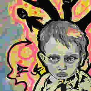 Go to the virtual gallery to the full Children of the Quarantine piece.