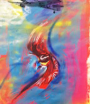 bird canvases for book cover