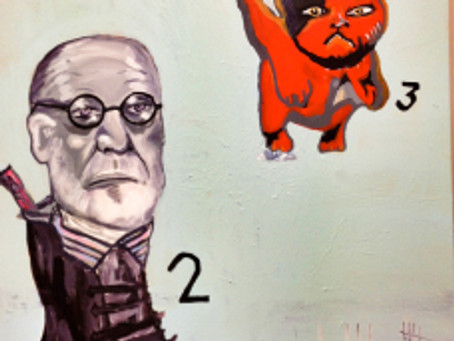 More Cats and Some Freud, because we love that coke snorting fucker.