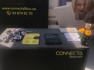Connecta va assistir a la Fira d'Artés per donar a conèixer els serveis en fibra òptica