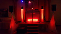 DJ Gala Licht Rot