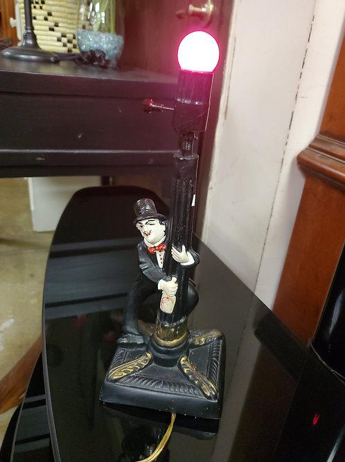 Vintage Charlie Chaplin Lamp