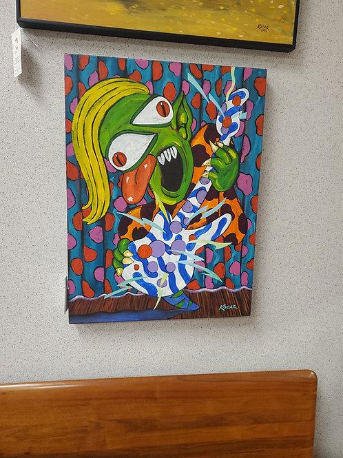George Kocar Alien Art