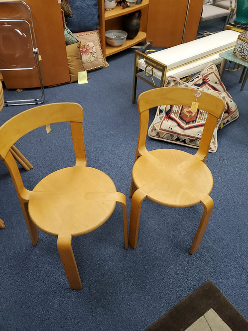 Pair of Dutch Mid Century Chairs