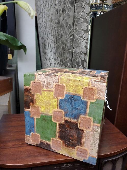 Ceramic Pedestal, Cube