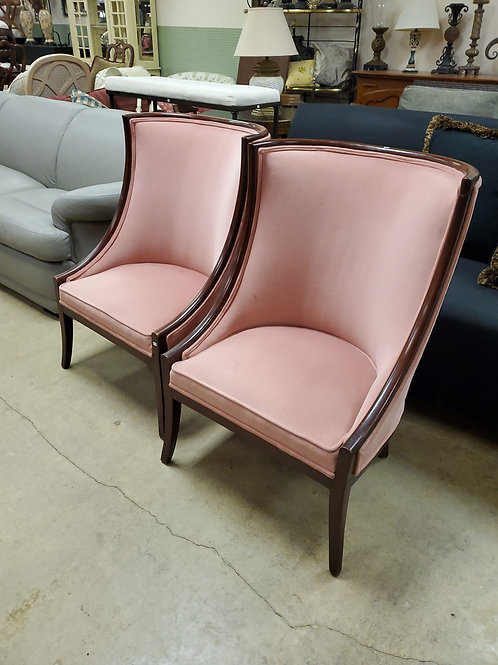 Pink Highback Chairs