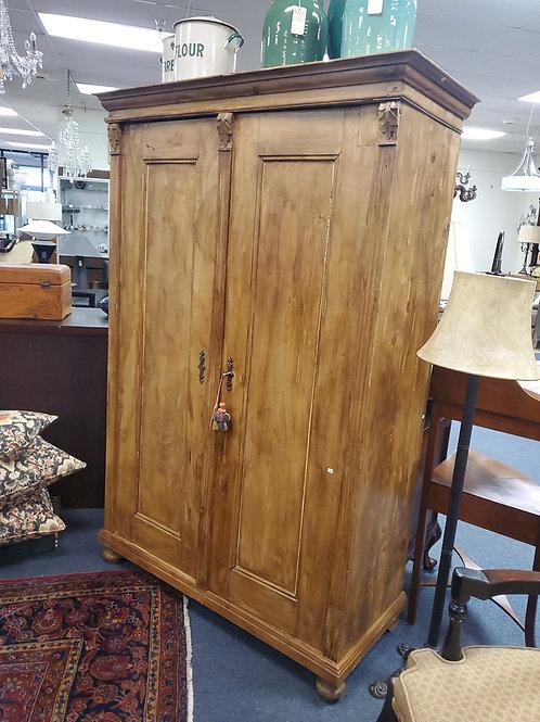 Antique Oak and Pine Cupboard