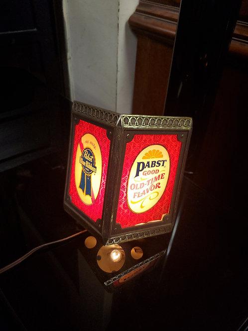 Vintage Hanging Pabst Blue Ribbon Light