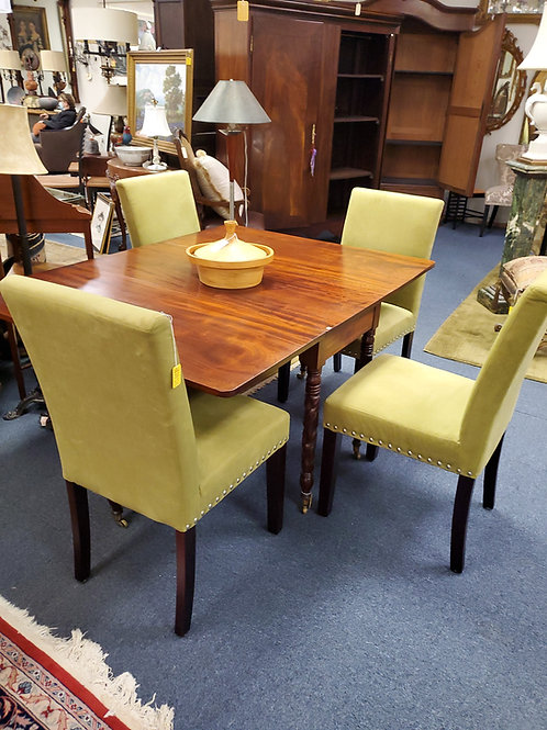 Set 4 Green Parson Chairs