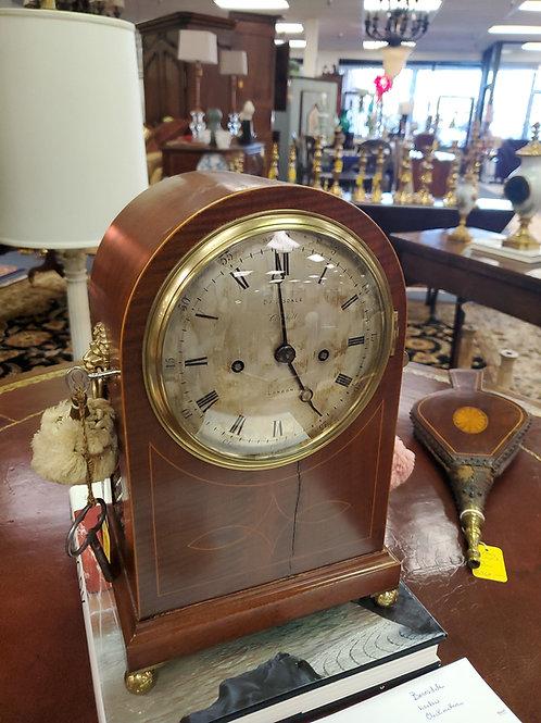 Victorian Gilt Brads Mounted Figured Walnut