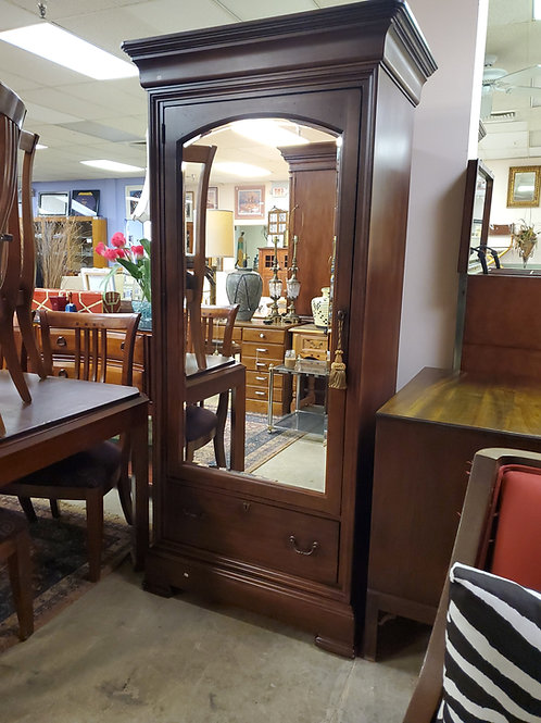 Thomasville Glass Door Wardrobe