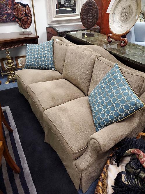 """Dapha Upholstered Baker Sofa, """"80"""" Length"""