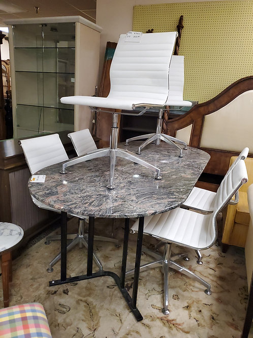 Marble Table With Chairs