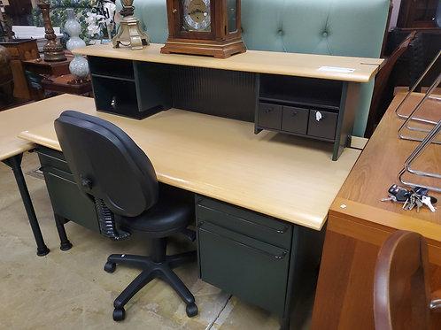 Herman Miller 2 Part Desk