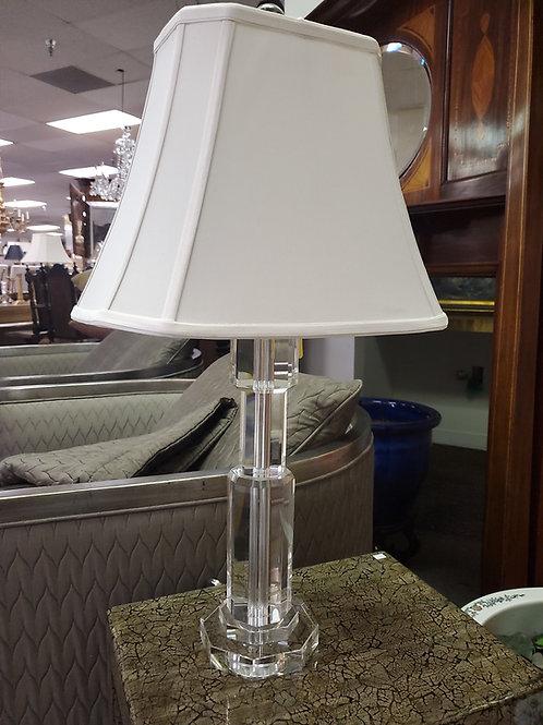 Modern Lucite Lamp