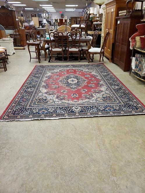 Hand Made Oriental Rug 7Ft 9' x 11Ft Center Madalian