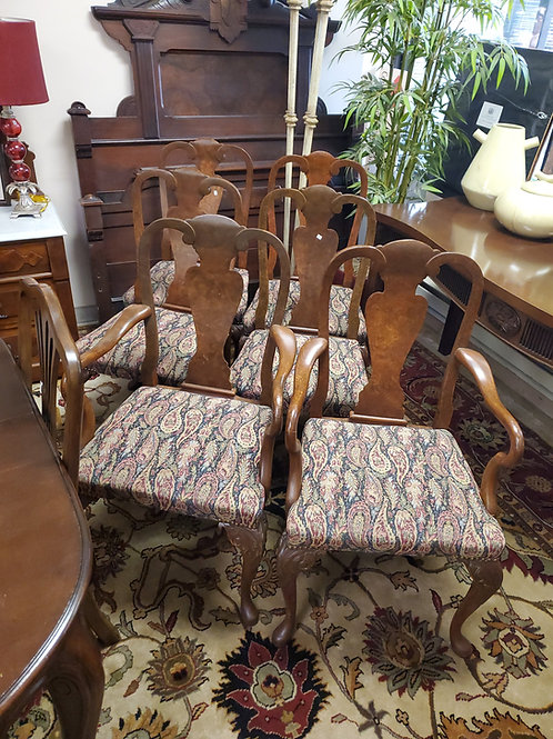 Queen Anne Style Antique Chairs