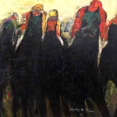 Ingeborg Richter, oil on masonite