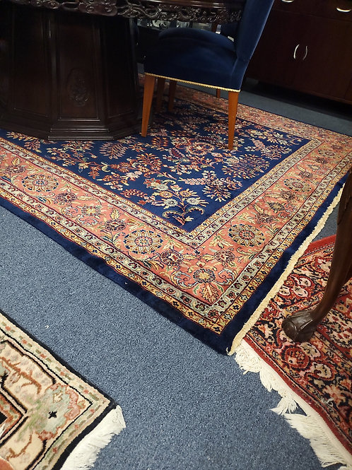 Hand Made Wool Oriental Rug Made in India 7ft 10in by 11ft