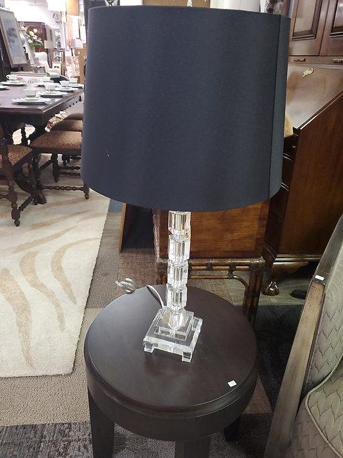 Glass Cut Lamp