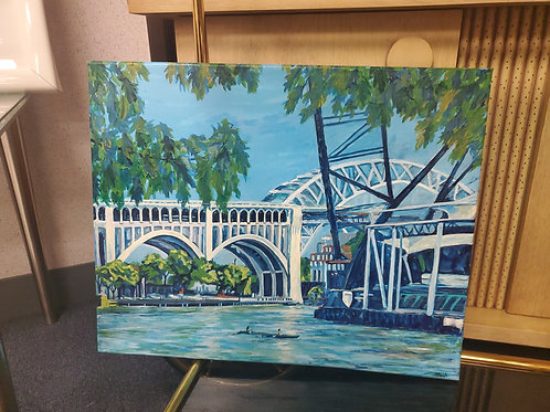 Tanya Hough, Cleveland Artist (The Flats)