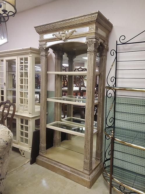 Mirrored  étagère