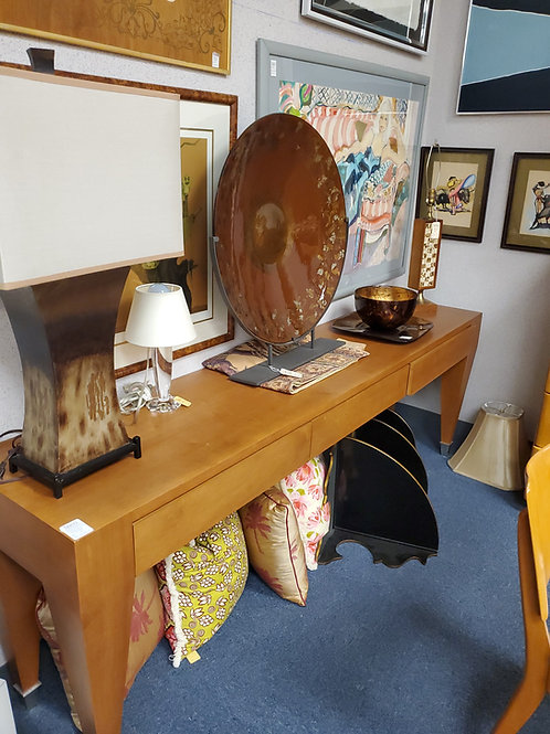 Mid Century Modern Console Table With 3 Drawers