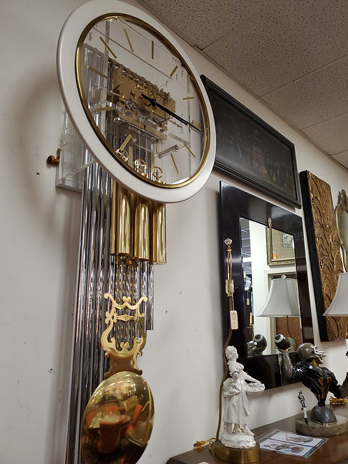 Howard Miller Lucite Wall Clock