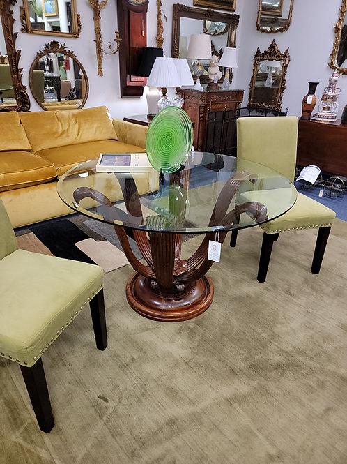 Hollywood Regency Sunflower Base Table