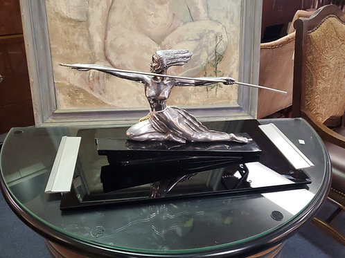 Art Deco Style Sculture by Mann ' Diana the Huntress '
