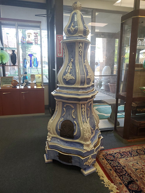 19th Century French Faience Stove