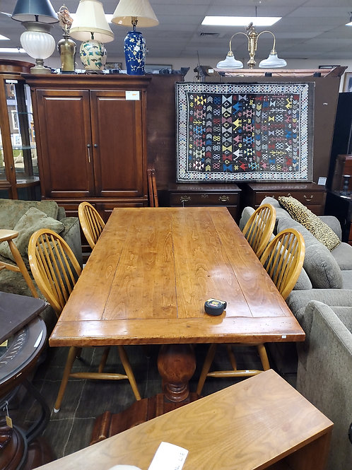Wooden Dining table with leaves